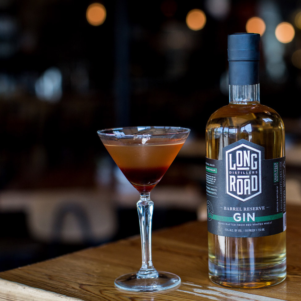 Barrel Reserve Gin Long Road Distillers