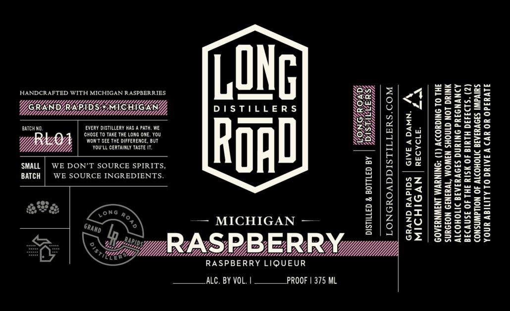 Michigan Raspberry Long Road Distillers