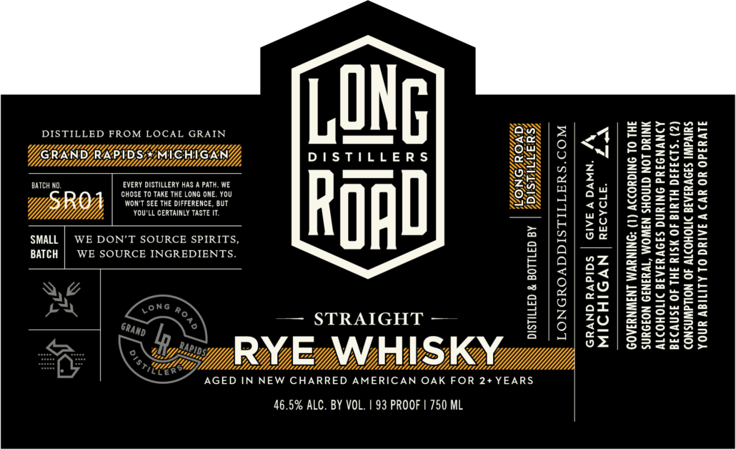 Straight Rye Whisky Long Road Distillers